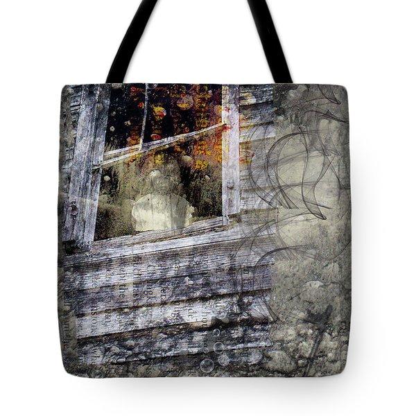 Haunted Impressions Tote Bag by Nadine Berg