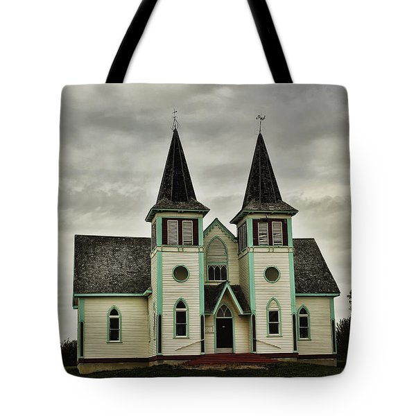 Haunted Kipling Church Tote Bag