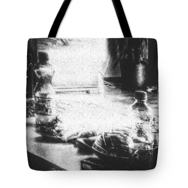 Tote Bag featuring the photograph Haunted Room I by Mimulux patricia no No