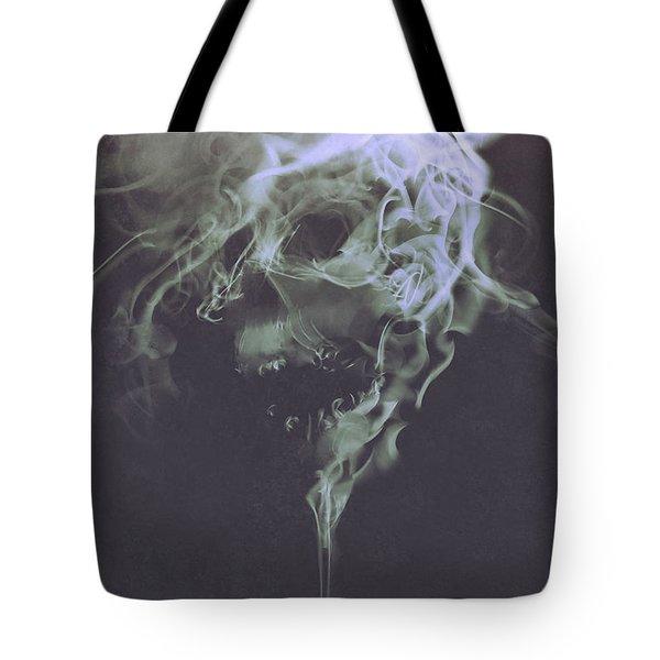 Haunted Smoke  Tote Bag