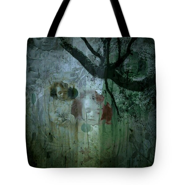 Tote Bag featuring the digital art Haunting by Delight Worthyn