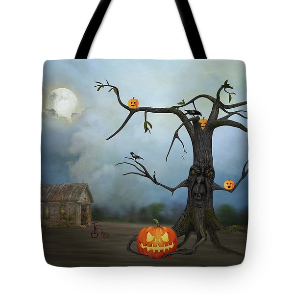Haunting Tote Bag by Mary Timman