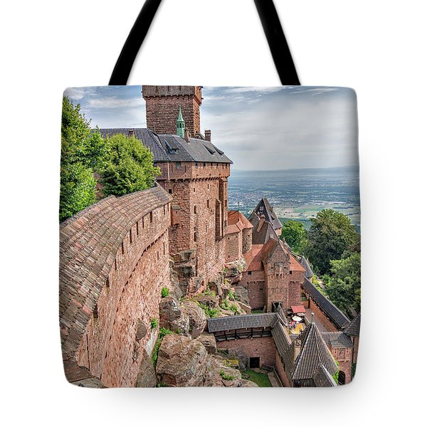 Tote Bag featuring the photograph Haut-koenigsbourg by Alan Toepfer