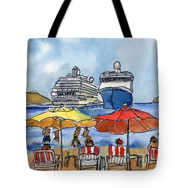 Hautuco Dock Tote Bag by Randy Sprout