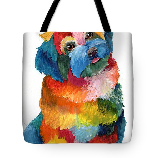 Hava Puppy Havanese Tote Bag by Sherry Shipley