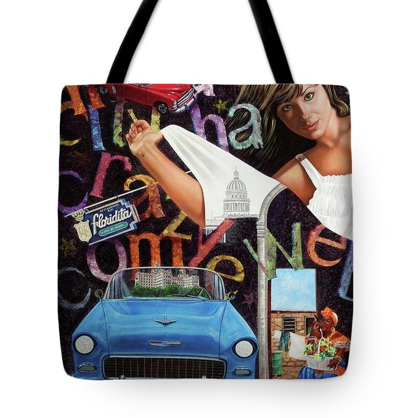Havana City Tote Bag
