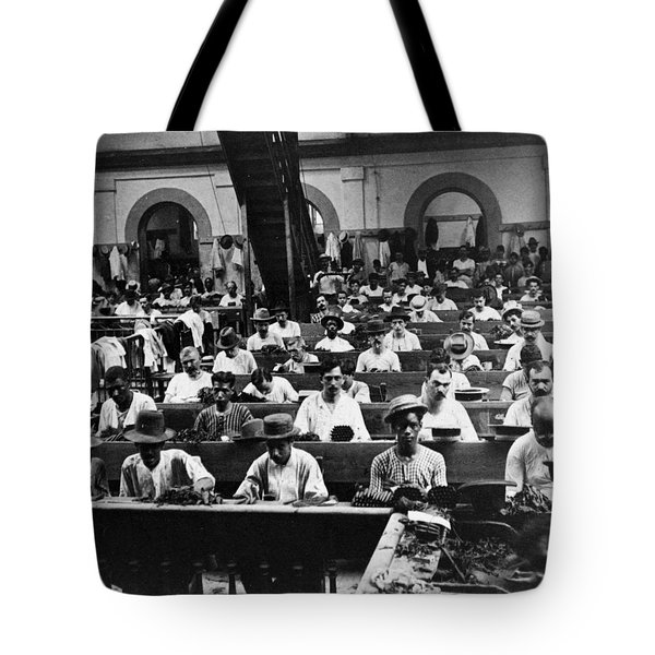 Havana Cuba - Cigars Being Rolled - C 1903 Tote Bag by International  Images