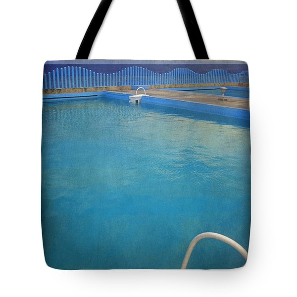 Tote Bag featuring the photograph Havana Cuba Swimming Pool And Ocean by David Zanzinger
