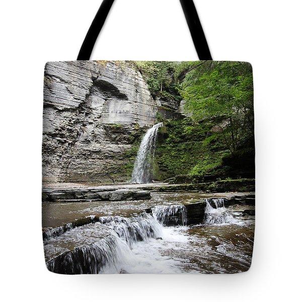 Eagle Cliff Falls II Tote Bag