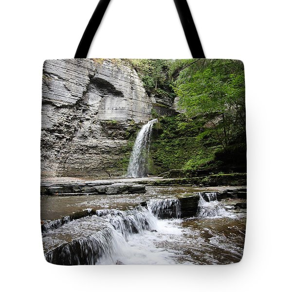 Eagle Cliff Falls II Tote Bag