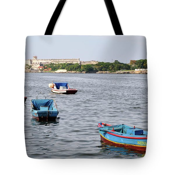 Havana Harbor Tote Bag