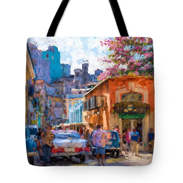 Havana In Bloom Tote Bag