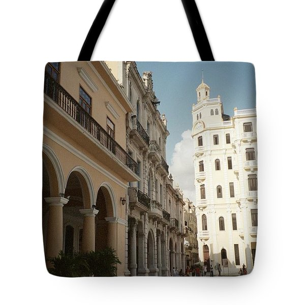 Havana Vieja Tote Bag by Quin Sweetman