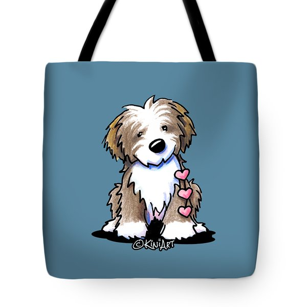 Havanese Heartstrings Tote Bag