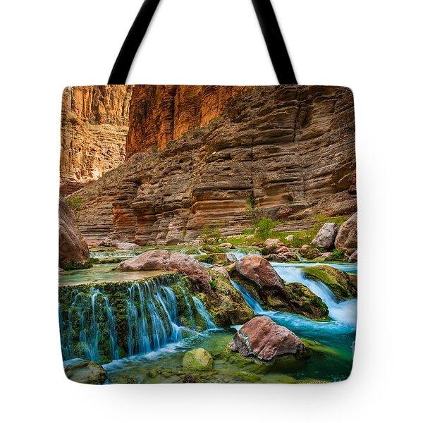 Havasu Creek Cascade Tote Bag