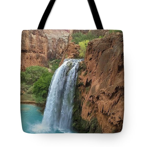 Havasu Falls Grand Canyon Tote Bag