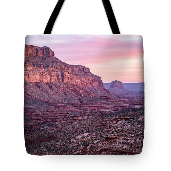 Havasupai Desert Sunrise Tote Bag
