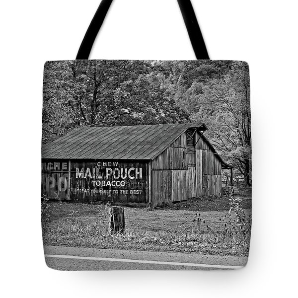 Have A Chaw Monochrome Tote Bag by Steve Harrington