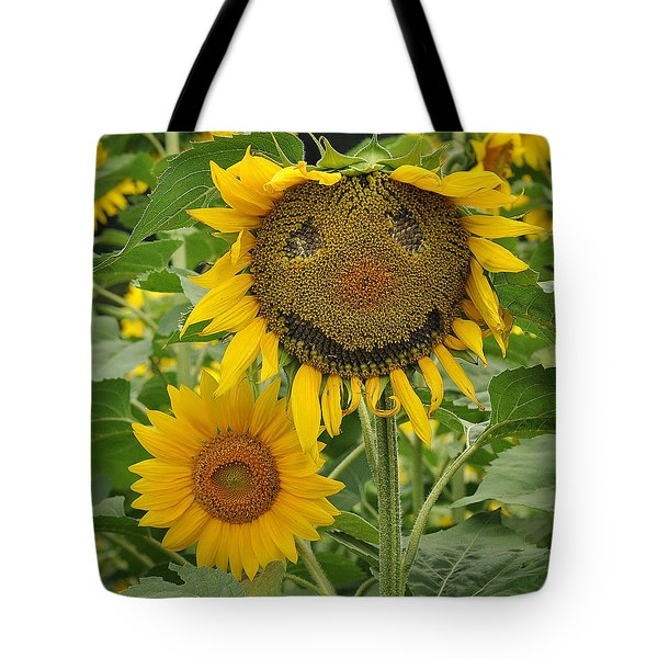 Have A Groovy Day Said The Hippie Flower Tote Bag