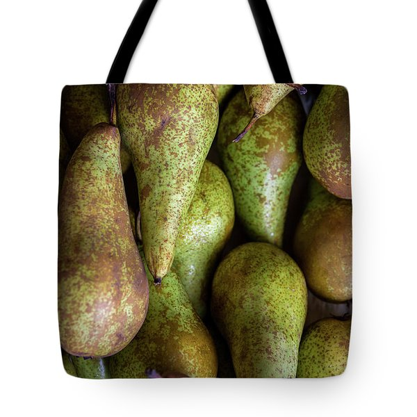 Have A Pear Tote Bag by Sandy Molinaro