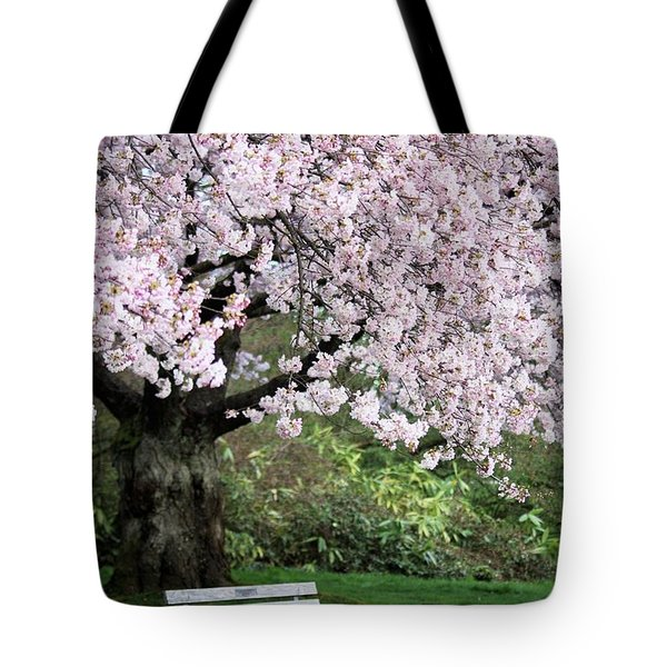 Tote Bag featuring the photograph Have A Seat by Victor K