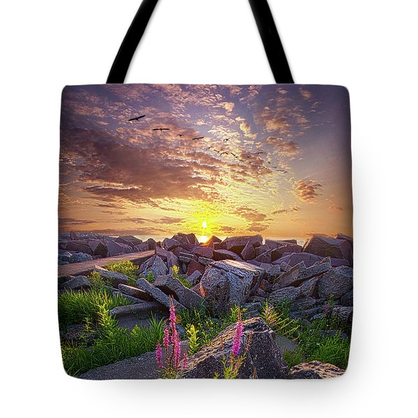 Tote Bag featuring the photograph Have Faith by Phil Koch