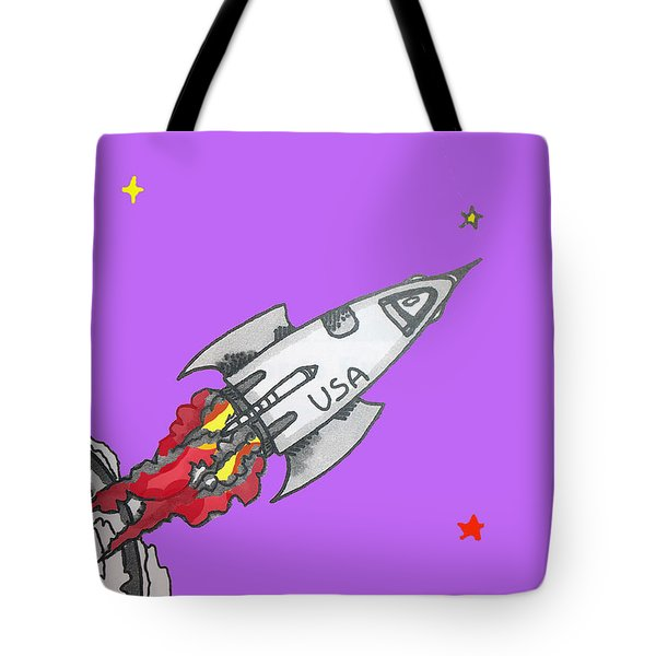 Have Spacesuit Will Travel Tote Bag by Robert Margetts