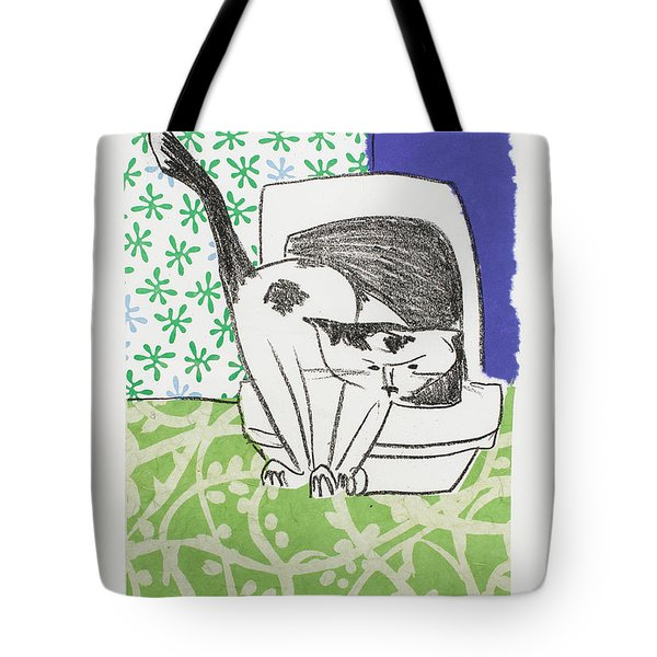 Have You Even Seen The Litter Tote Bag by Leela Payne