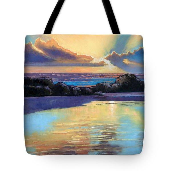 Havik Beach Sunset Tote Bag