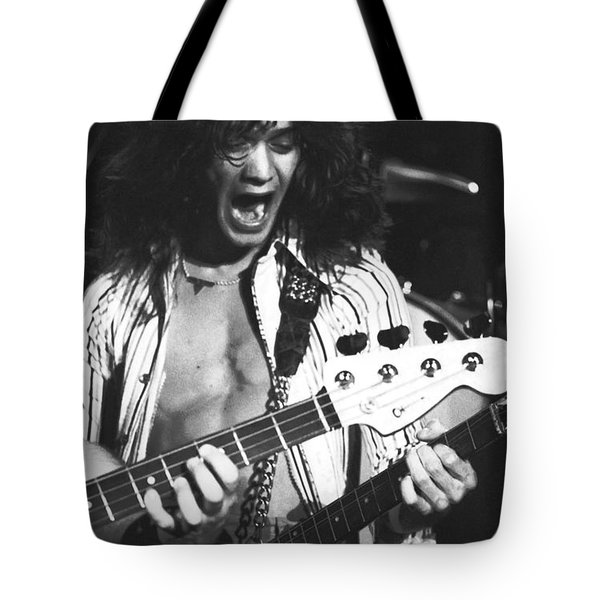 Having Fun On Stage Tote Bag by Ben Upham