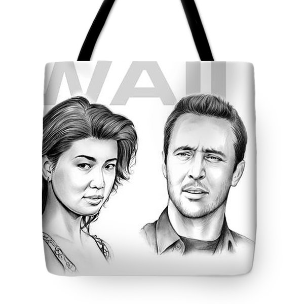 Hawaii 5 0 Tote Bag
