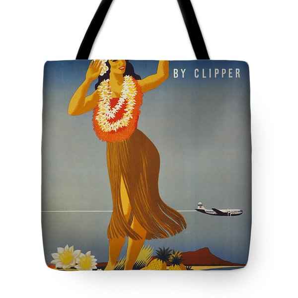 Hawaii By Clipper Tote Bag