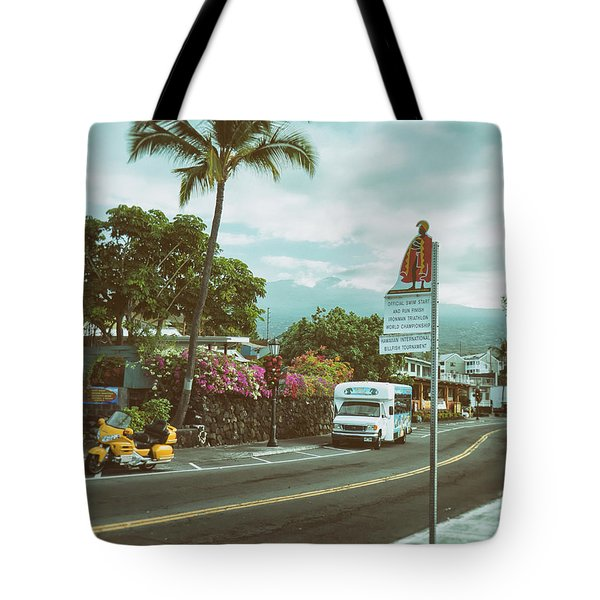 Hawaii Ironman Start Point  Tote Bag