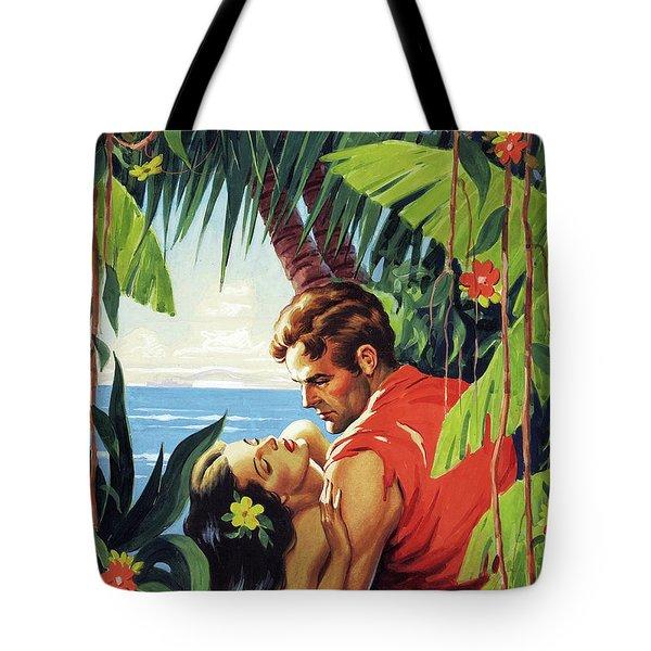 Hawaii, Romance At The Tropic Coast Tote Bag