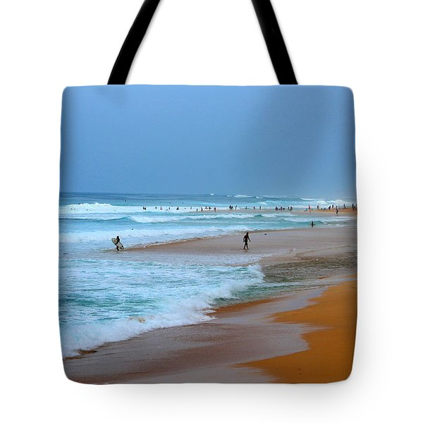 Hawaii - Sunset Beach Tote Bag