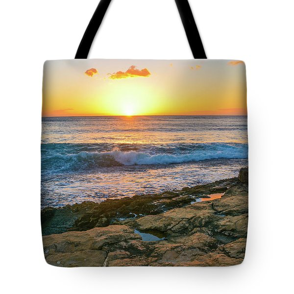 Hawaii Sunset Tote Bag