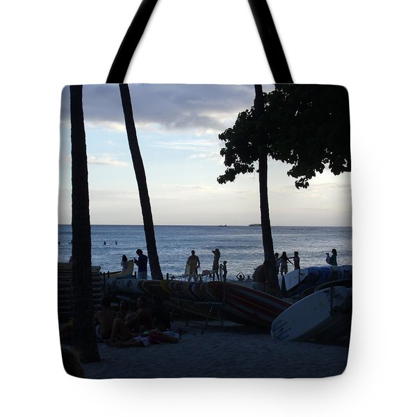 Hawaiian Afternoon Tote Bag