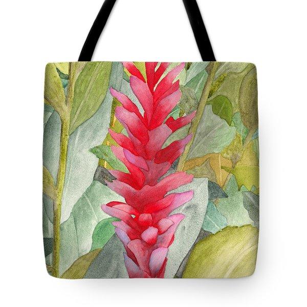 Hawaiian Beauty Tote Bag