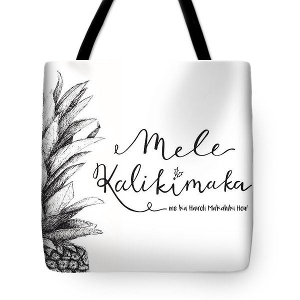 Hawaiian Christmas Tote Bag