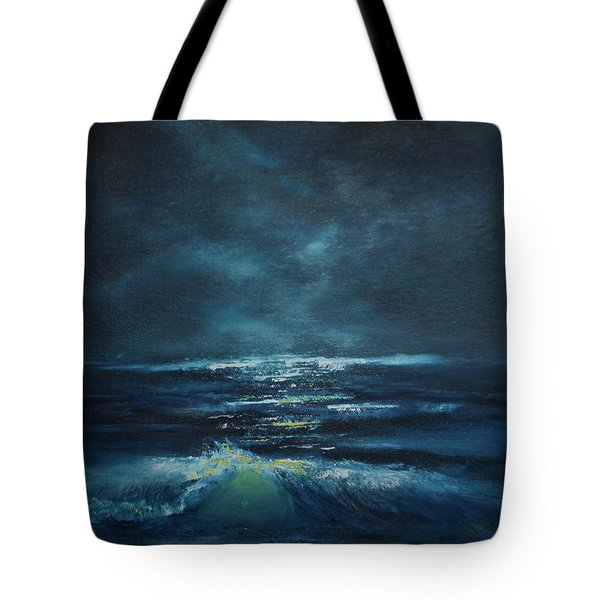 Hawaiian Enchanted Sea #431 Tote Bag by Donald k Hall