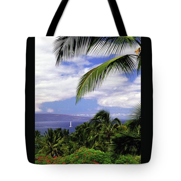 Hawaiian Fantasy Tote Bag