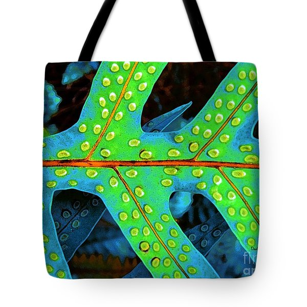 Hawaiian Fern Leaf Tote Bag