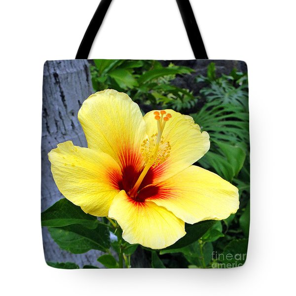 Hawaiian Hibiscus Tote Bag