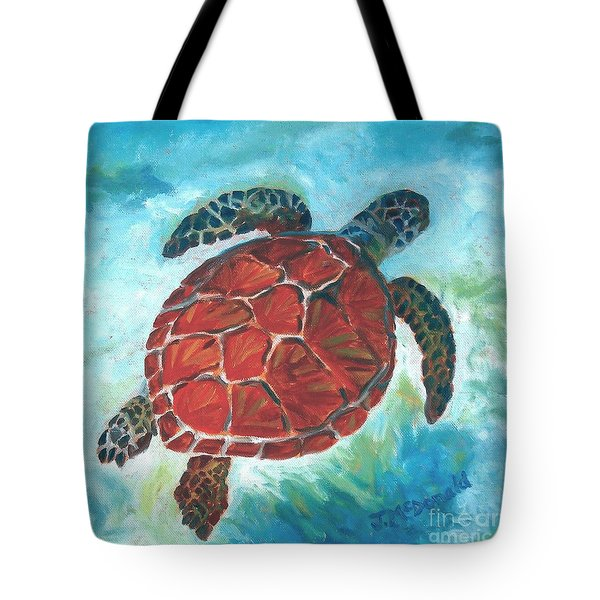 Hawaiian Honu Tote Bag