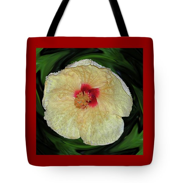 Hawaiian Hybiscus Tote Bag