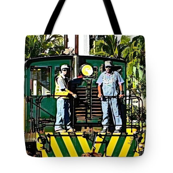 Hawaiian Railway Tote Bag