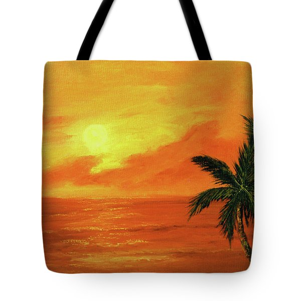 Hawaiian Sunset #27 Tote Bag by Donald k Hall