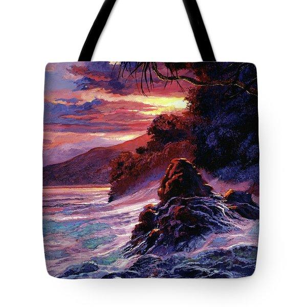Hawaiian Sunset - Kauai Tote Bag