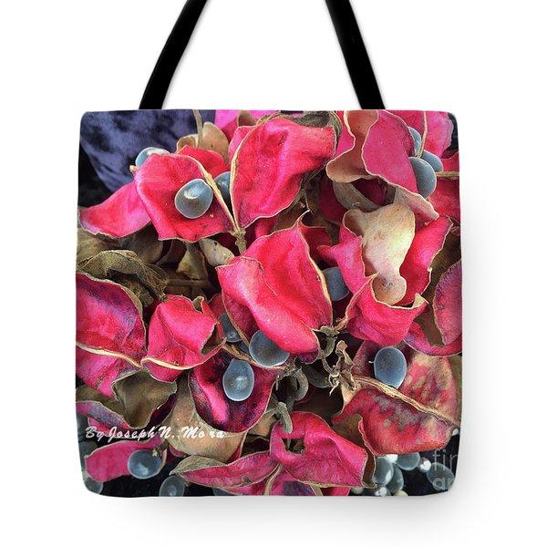 Hawaiian Velvet Seed's And Any Hua Were Weke  Tote Bag