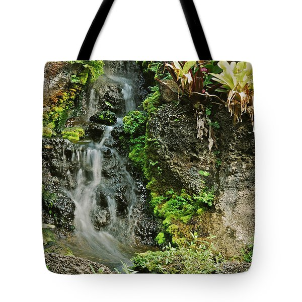 Hawaiian Waterfall Tote Bag